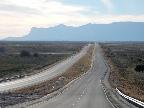 Texas - onderweg naar Guadalupe Mountains National Park - 1