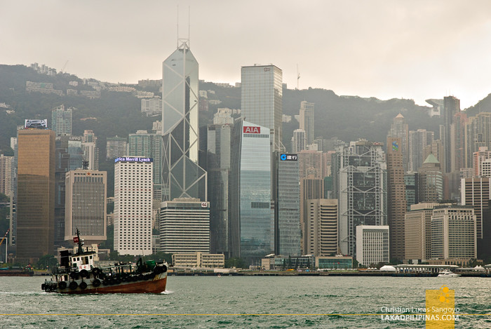 Hong Kong Skyline from Superstar Virgo