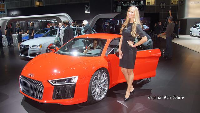 2017 Audi R8 at LA Auto Show 2015