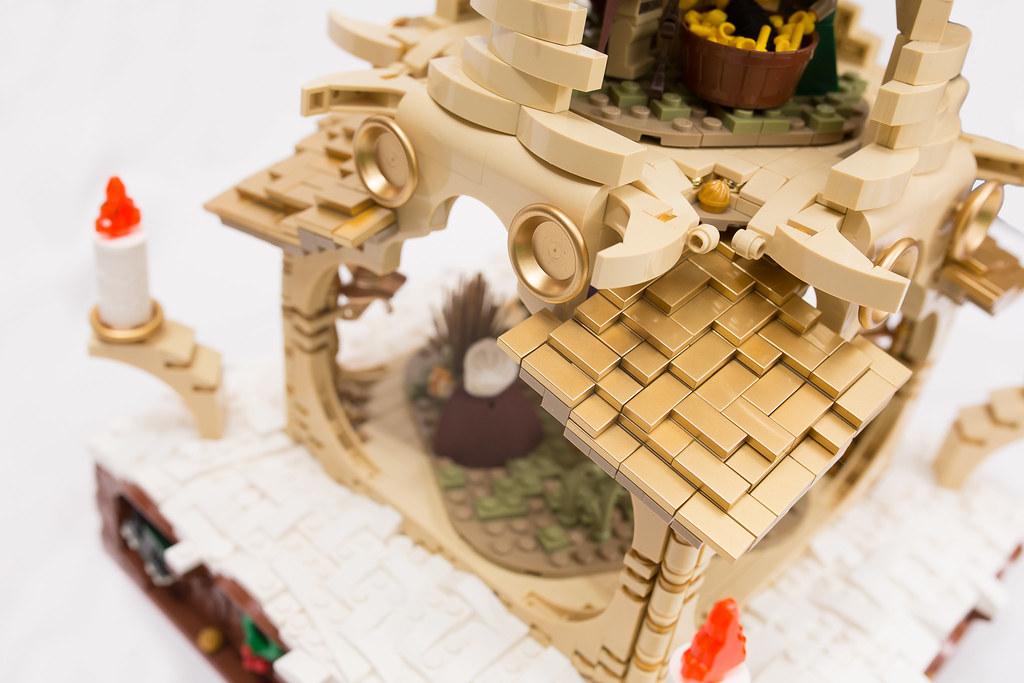 [BuildtheBrick #2]: Weihnachtspyramide 23248122943_ea0cde5279_b
