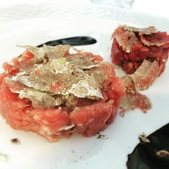 #visioni #cibo #food #tartare #tartufobianco #acqualagna