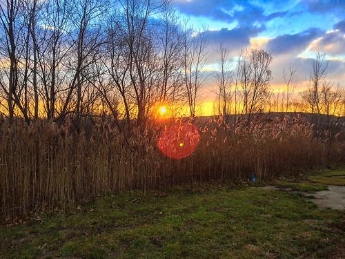 morning sky newyork color sunrise work dawn us unitedstates photostream fairport iphone 5s
