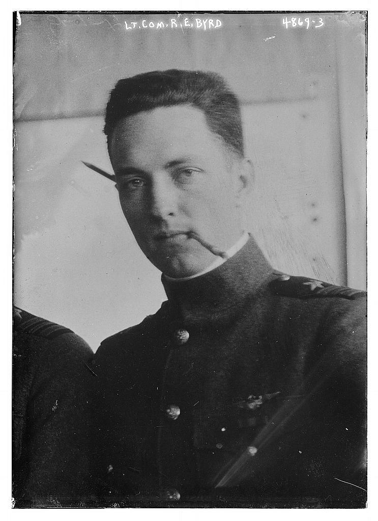 Lt. Com. R.E. Byrd (LOC)