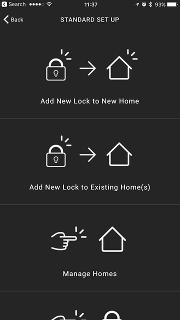 Igloohome iOS App - Add New Locks / Manage Locks