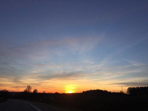 on the way back from Regensburg