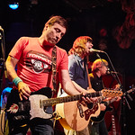 Wed, 22/02/2017 - 5:18pm - Old 97's - Rhett Miller, Murry Hammond, Ken Bethea, and Philip Peeples - perform for a lucky crowd of WFUV Members at Rockwood Music Hall in New York City, Feb. 22, 2017. Hosted by Carmel Holt. Photo by Gus Philippas