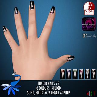ZcZ Tuxedo Nails v2