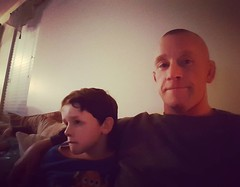 With all the moving and other craziness it feels good to sit down and hangout with our crew. Our little man is a handful but so was I at his age. #Godisgreat #godcenteredfamily