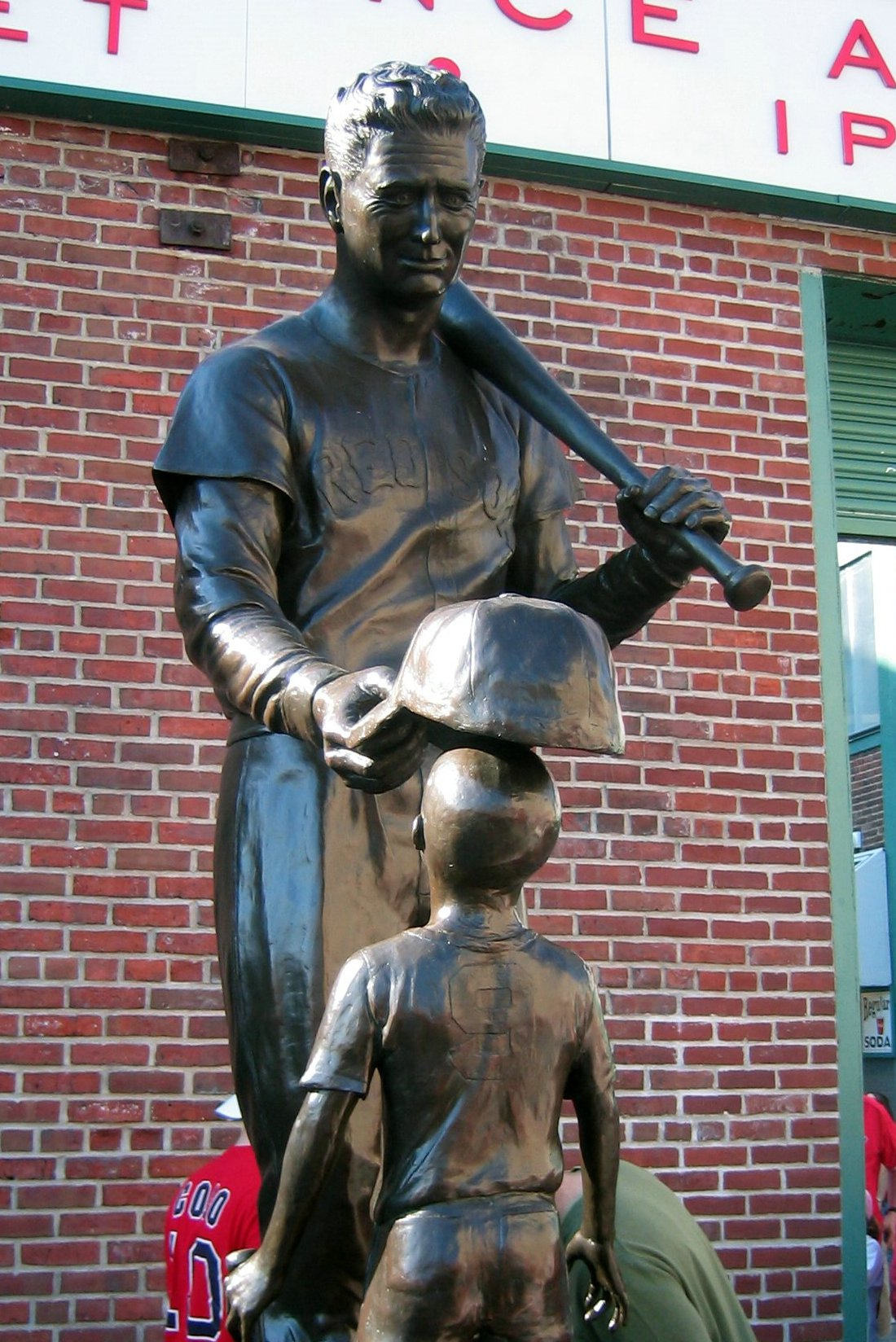 Fenway Park Ted Williams Jimmy Fund Statue Flickr