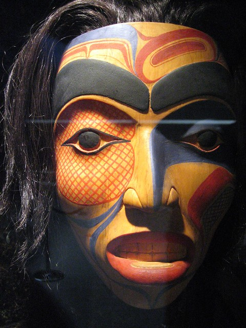 Mask, Museum of Anthropology, Vancouver, British Columbia