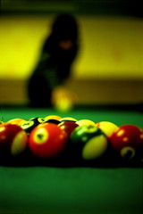 nine-ball(0.0), cue stick(0.0), games(0.0), carom billiards(0.0), indoor games and sports(1.0), individual sports(1.0), yellow(1.0), snooker(1.0), sports(1.0), red(1.0), recreation(1.0), pool(1.0), macro photography(1.0), green(1.0), billiard ball(1.0), eight ball(1.0), close-up(1.0), english billiards(1.0), ball(1.0), cue sports(1.0),