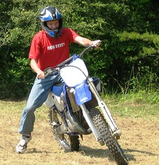 mountain bike(0.0), extreme sport(0.0), all-terrain vehicle(0.0), stunt performer(0.0), bicycle(0.0), racing(1.0), enduro(1.0), vehicle(1.0), sports(1.0), motorcycle(1.0), motorsport(1.0), off-roading(1.0), motorcycle racing(1.0), motorcycling(1.0), motocross(1.0),
