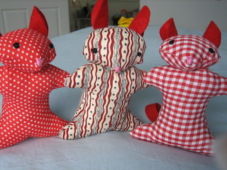 Sewing Stars Mice