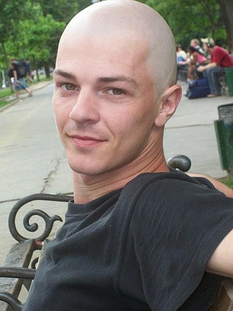 Deval patrick shaved his head