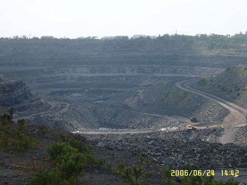 Coal mine Lake