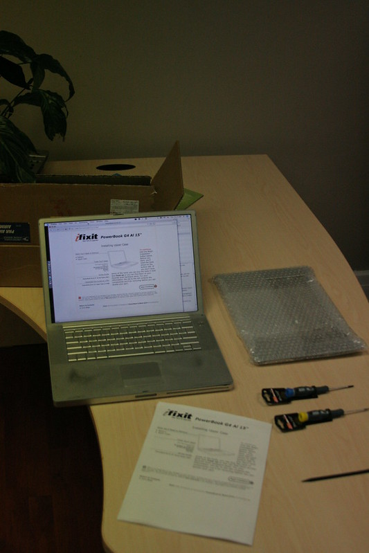 Powerbook, New Casing and Tools