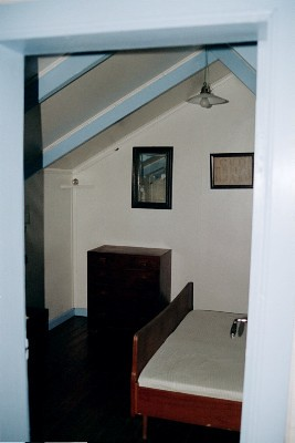 Berunes.  Attic Bedroom