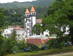 A church in Furnas