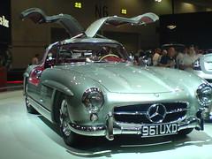 automobile(1.0), automotive exterior(1.0), vehicle(1.0), performance car(1.0), automotive design(1.0), mercedes-benz(1.0), auto show(1.0), mercedes-benz 190sl(1.0), mercedes-benz 300sl(1.0), antique car(1.0), land vehicle(1.0), sports car(1.0),
