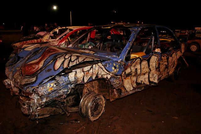 Derby Car Crash Today