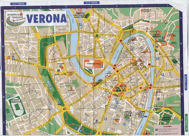 verona tourism map - photo#20