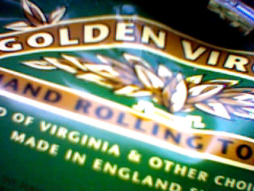 Golden Virginia Hand Rolling Tobacco