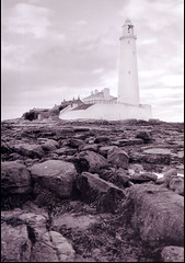 Lighthouse at Whitley Bay
