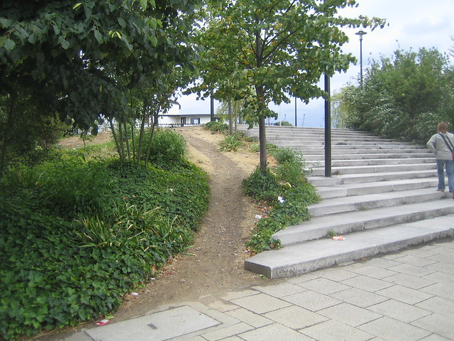 Desire Path (by the steps)