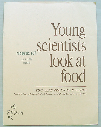 Young scientists look at food
