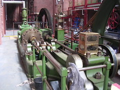 Tandem-compound steam engine
