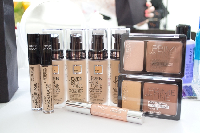 Catrice Blogger Event 2015, Catrice Neuheiten Herbst/Winter 2015, Even Skin Tone Beautifying Foundation, Catrice Contouring Palette