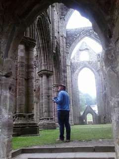 Jim in Tintern Abbey