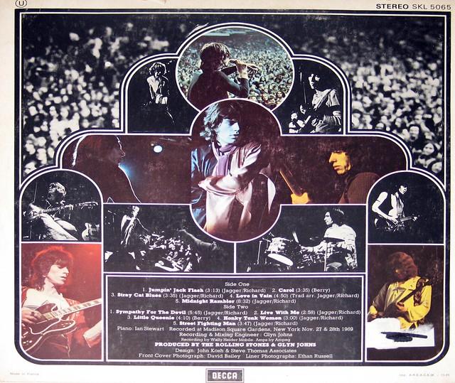 "Rolling Stones Get Yer Ya-Yas Out 12"" LP ALBUM VINYL"