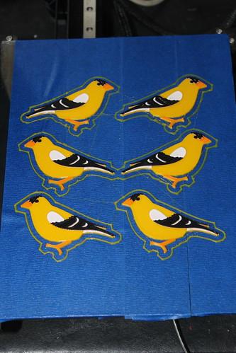 3D Printing - Birds - New Finch Design