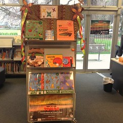 Tongan Language Week display at Spreydon Library