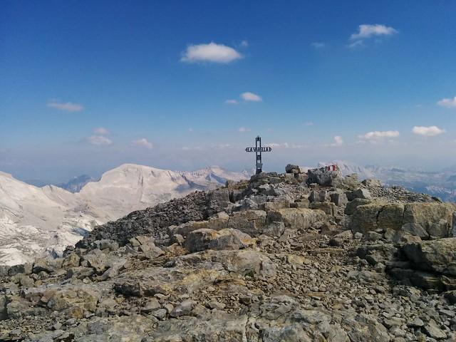 Gipfelkreuz La Varella, Alta Badia, Dolomiten