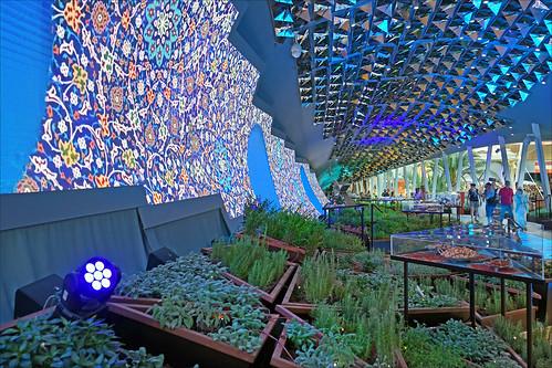 Le pavillon de l'Iran (Expo Milan 2015)