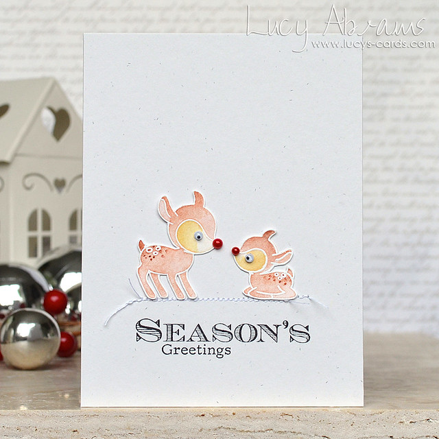 Baby Rudolph by Lucy Abrams for Clearly Besotted