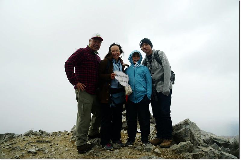 The summit of Torreys Peak 3
