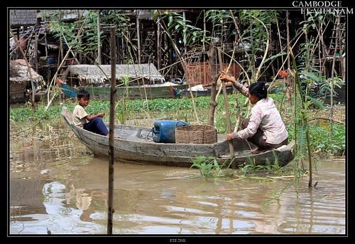 Jour 7 : 8 août 2011 : Lac Tonlé Sap - Village flottant