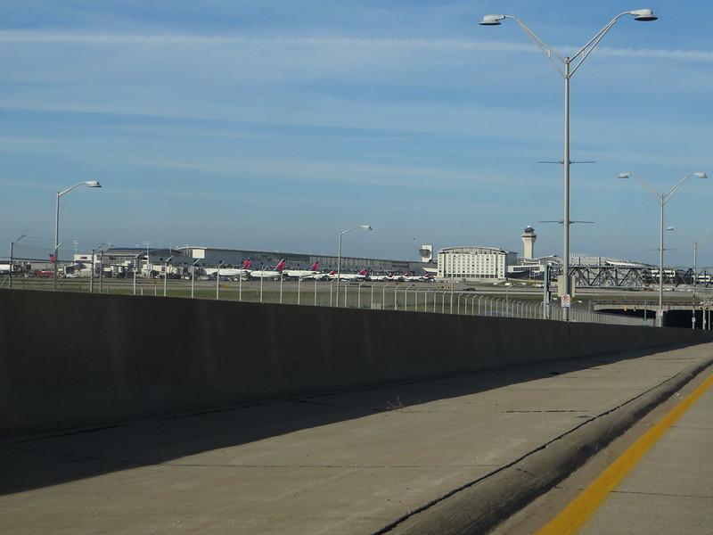 Detroit Metropolitan Wayne County Airport, Romulus, Michigan