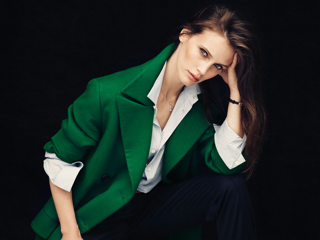 Марина Вакт — Фотосессия для «Elle» FR 2015 – 1
