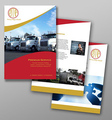 PMA company Profile Design || design by agungstudio