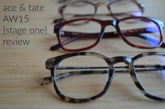 ace & tate aw15 stage one review with closeup frames