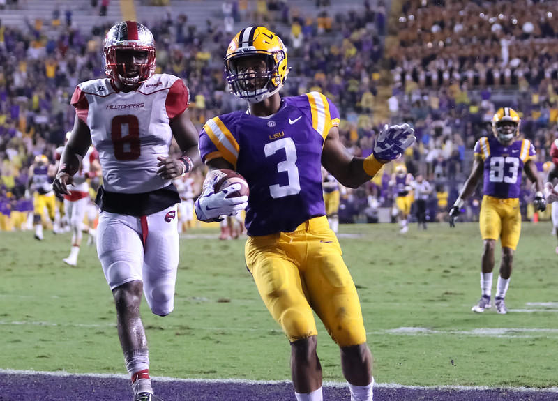 LSU receiver Tyron Johnson announces plans to transfer