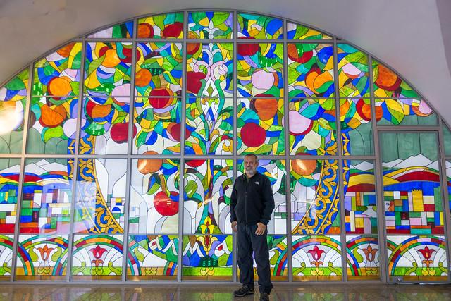 Almaty metro art