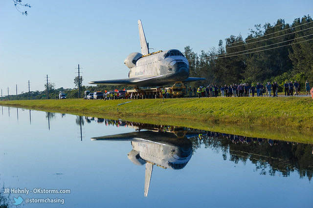 Fri, 11/02/2012 - 17:23 - Upon arriving at the Kennedy Space Center Visitor Complex, Atlantis was joined by a large group of astronauts representing all previous US space programs. - November 02, 2012 5:23:53 PM - , (28.5258,-80.6823)