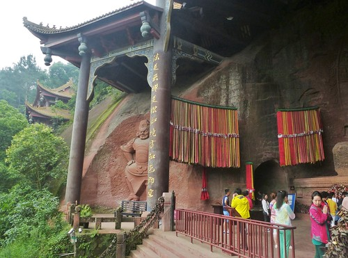 CH-Leshan-Bouddha oriental (5)