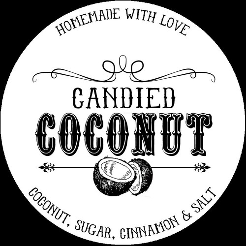 Candied Coconut Printable