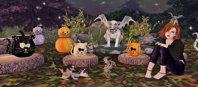 pumpkins and imps...